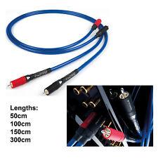 Chord Ausbauhilfe RCA Interconnect Kabel 50cm 100cm 1.5m Stereo Audio analog