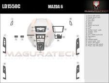 Fits Mazda 6 Sedan 2009-2013 With Auto Trans Basic Premium Wood Dash Trim Kit