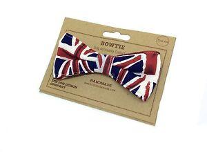 Dog Bow Tie, Union Jack, UK, Britain, British, GB Flag, Dickie Bow, Accessories