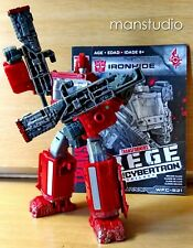Authentic Transformers War for Cybertron Siege Autobot IRONHIDE w Duo Weapons x2