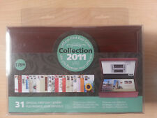 2011 Canada Post Offical First Day Cover Collection FDC Wooden Keepsake Box