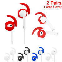 Earbud Earphone Tips Anti Slip Silicone Case Cover For Airpods iPhone Earpods