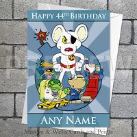 Dangermouse Birthday Customised Card