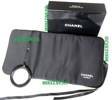 CHANEL Mirror Makeup Brush Holder Travel Zipper Pouch Roll NEW