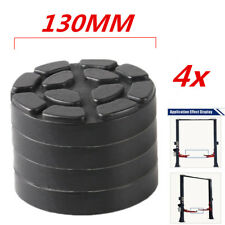 130mm Heavy Duty Car Lift Arm Rubber Pad Post Lift Jack Disc Shop Accessories 4x