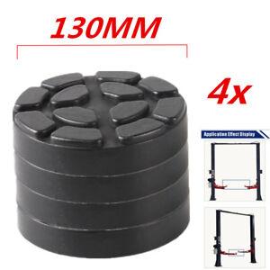 130mm Heavy Duty Car Lift Arm Rubber Pad Post Lift Jack Disc Shop Accessories 4x