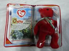 McDONALD'S **TY - INTERNATIONAL BEARS** OSITO THE BEAR - MEXICO In Package