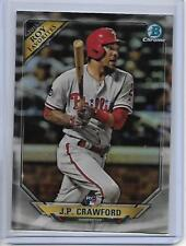 2018 Bowman J.P. Crawford Chrome ROY Favorites Insert Card