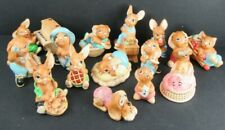 Pendelfin Rabbit Bunny Figurines England (Lot Of 16)