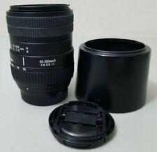 Sigma DC 55-200mm f/4.0-5.6 DC Lens For Nikon SLR DSLR Camera *GOOD/TESTED*
