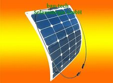 50Watt 12V Mono Semi Solarmodul flexibel Solarpanel für Boot Wohnmobil Camping