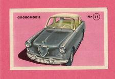 Goggomobil Vintage 1950s Car Collector Card from Sweden C