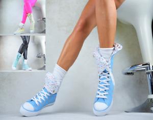 NEU DESIGNER Sport Damenschuhe Trendy Party Pumps Freizeitschuhe Sexy Sneaker