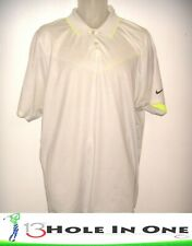 Nike Tour Performance Men's Golf Shirt Short Sleeve Size Xl Gray Nice Polyester+