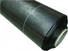 Nutley's 100m x 1m Wide Heavy Duty Weed Control Fabric Membrane bulk roll