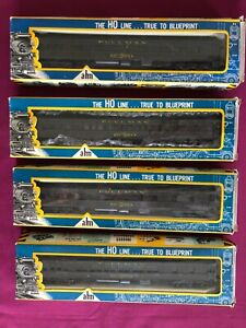 AHM Rivarossi HO Gauge Pullman Cars (Lot of 4) #6260 SF