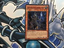 LEGENDARY SIX SAMURAI - KIZAN GERMAN SUPER STOR-EN020 DE020 LIGHT PLAY YUGIOH