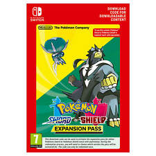 Pokémon Sword OR Pokémon Shield - Expansion Pass DLC - Digital Download (EU)