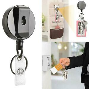 Telescopic Wire Rope Anti Lost Key Ring Keychain Retractable Gear Finder Gadgets