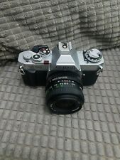 Canon AV-1 slr with Canon 50mm lens