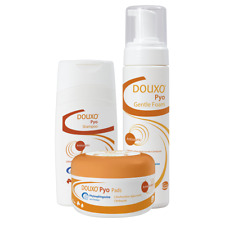 More details for douxo s3 pyo antiseptic shampoo, mousse & pads - whole range - best price!!