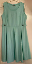 Simply Be Ladies mint green coloured dress