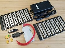 48V 13S6P eBike Battery Building Kit up to 21A/h with Connectors & Two Chargers