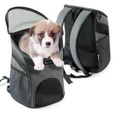 Becko Cat Dog Pet Carrier Backpack Front Net Bag AIRLINE APPROVED Carrier