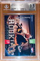 💎2009-10 Stephen Curry PANINI ADRENALYN XL ROOKIE CARD RC 67 BGS 9.5 PSA🔥HOT🔥