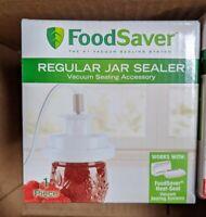 FoodSaver Regular Mouth Mason Jar Sealer In Hand New Sealed Ships Today Free