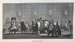 Paris - Café der Patrioten - nach Jacques-Francois Swebach Desfontaines - Paris