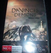 Davinci's Da Vinci's Demons Series / Season Three 3 (Aust Region 4) DVD – New