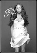 Megan Fox, Autographed, Pure Cotton Canvas Image. Limited Edition (MF-105)