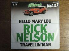 RICK NELSON RICKY NELSON 45 TOURS GERMANY HELLO MARY LOU