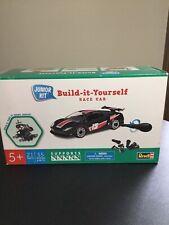 Revell Junior Build It Yourself Plastic Model Kit Black Race Car NIB