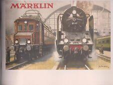 Märklin-Katalog   1929 - Reprint -