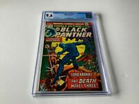 JUNGLE ACTION 11 CGC 9.6 WHITE PAGES BLACK PANTHER BARON MACABRE MARVEL COMICS
