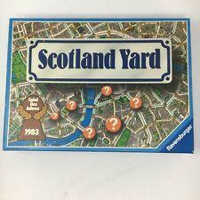 Scotland Yard Board Game 1983 Ravensburger Vintage German edition EUC