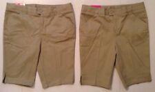 Lot of 2 French Toast Girls School Uniform Adj Waist Shorts Bermuda 12 1/2 Plus