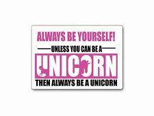 Be A Unicorn Funny Novelty Fridge Magnets Gift Fun Joke Cheap Birthday Present