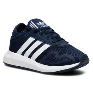Scarpe Bambino Adidas Swift Run X C Blu Sneaker Leggera in Tessuto Tempo Libero