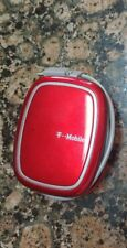 Original T-mobile Micro-USB travel charger wind up cord RED