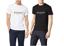 TSHIRT UOMO fruit of the loom  LOGO Fans Balmain - 100% COTONE