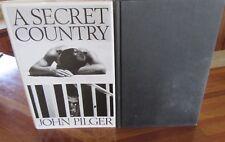 A SeCreT CoUnTrY ~ John Pilger. 1st UK HbDj 1989.  Australian politics   in MELB