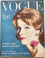 1960 What-to-Wear VOGUE 60s CHIC British fashion VINTAGE style & beauty