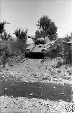 German Army Panzer Tank Florence Italy 1944 World War 2, Reprint Photo, 6x4 Inch