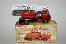 Dinky Toys, #970 Jones Fleetmaster Cantilever Crane, Boxed, Original Lot #2