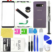For Samsung Galaxy Note 8 N950 -Orchid Gray- Front Glass Back Replacement Kit