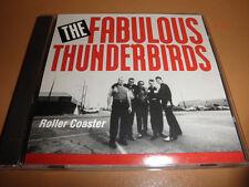THE FABULOUS THUNDERBIRDS single ROLLER COASTER promo CD 3 tracks LIVE twist kni