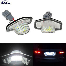 LED License Plate Lights For Honda CRV Fit Jazz Crosstour Odyssey Insight FRV